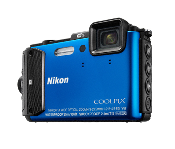 Nikon COOLPIX AW130 (Blau)
