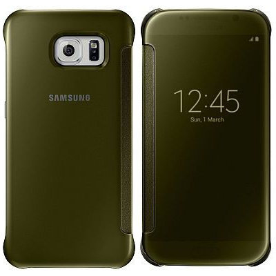 Samsung Clear View Cover (Gold)