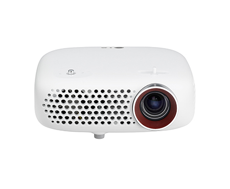 LG PW600G Beamer/Projektor (Weiß)