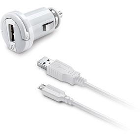 Cellular Line CBRUSBMUSB2AW Ladegeräte für Mobilgerät (Weiß)