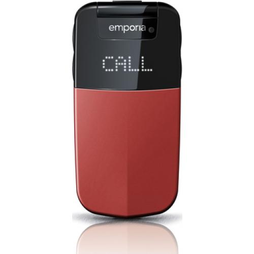 Emporia Glam 2.4Zoll 92g (Schwarz, Rot)