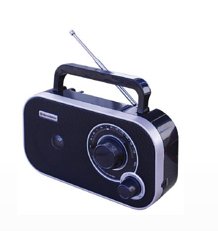 Roadstar TRA-2235 Tragbar Analog Schwarz Radio (Schwarz)