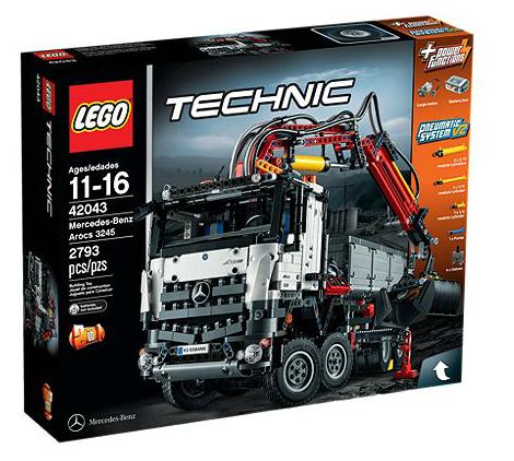 LEGO Technic Mercedes-Benz Arocs 3245 2793Stück(e) (Mehrfarbig)