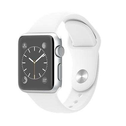 Apple Watch Sport (Weiß, Silber)