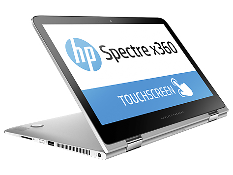 HP Spectre x360 13-4102ng (Silber)