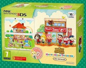 Nintendo New 3DS + Animal Crossing: Happy Home Designer Pack (Mehrfarbig)