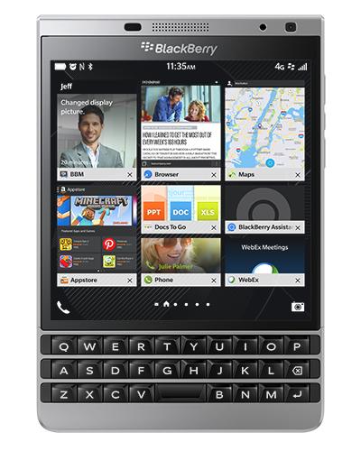 BlackBerry Passport 32GB 4G Silber (Silber)