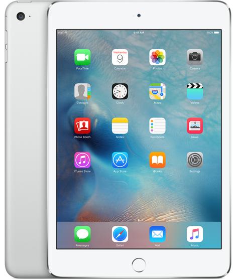 Apple iPad mini 4 128GB 3G 4G Silber (Silber)