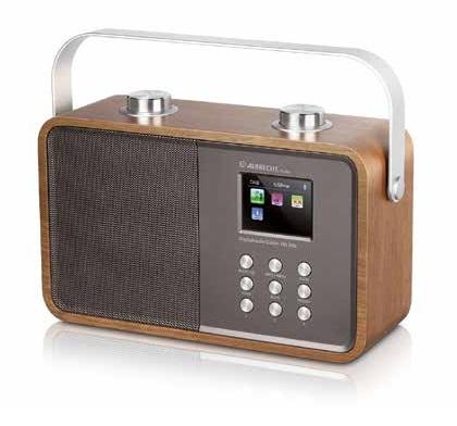 Albrecht DR 850 Tragbar Digital Braun Radio (Braun)