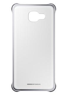 Samsung EF-QA510CSEGWW Handy-Schutzhülle (Silber, Transparent)