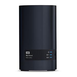 Western Digital 4TB My Cloud EX2 Ultra (Schwarz)