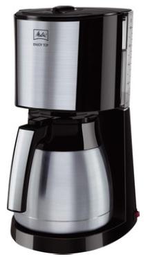 Melitta 1017-08 Drip coffee maker 10Tassen Schwarz Kaffeemaschine (Schwarz)