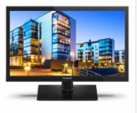 "Panasonic TX-24DSW504 24"" HD ready Smart-TV Schwarz LED-Fernseher (Schwarz)"