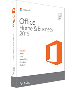 Microsoft Office Mac Home & Business 2016, EN