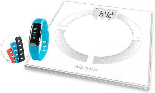Medisana BS 444 + ViFit MX3 (Weiß)