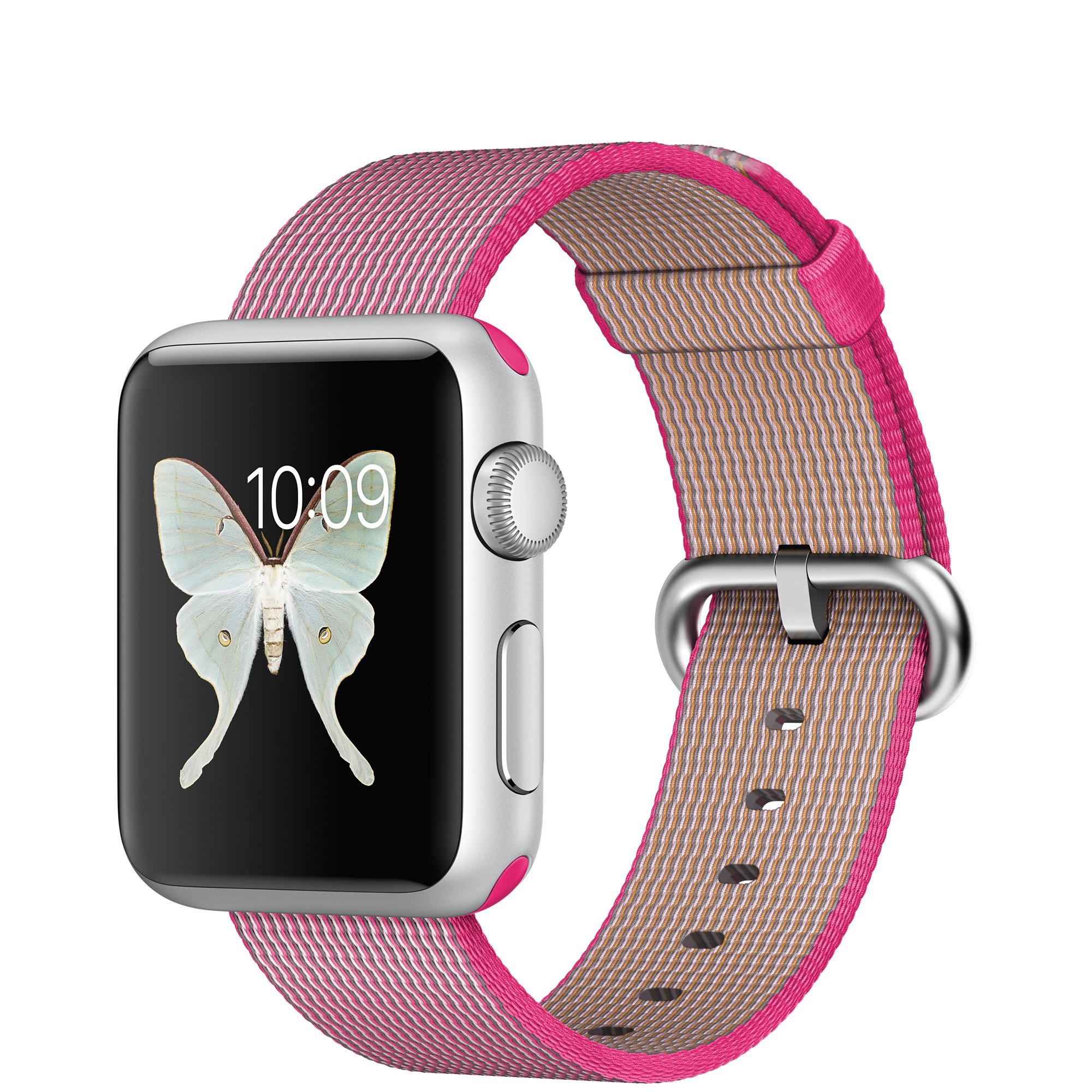 Apple Watch Sport (Pink, Silber)