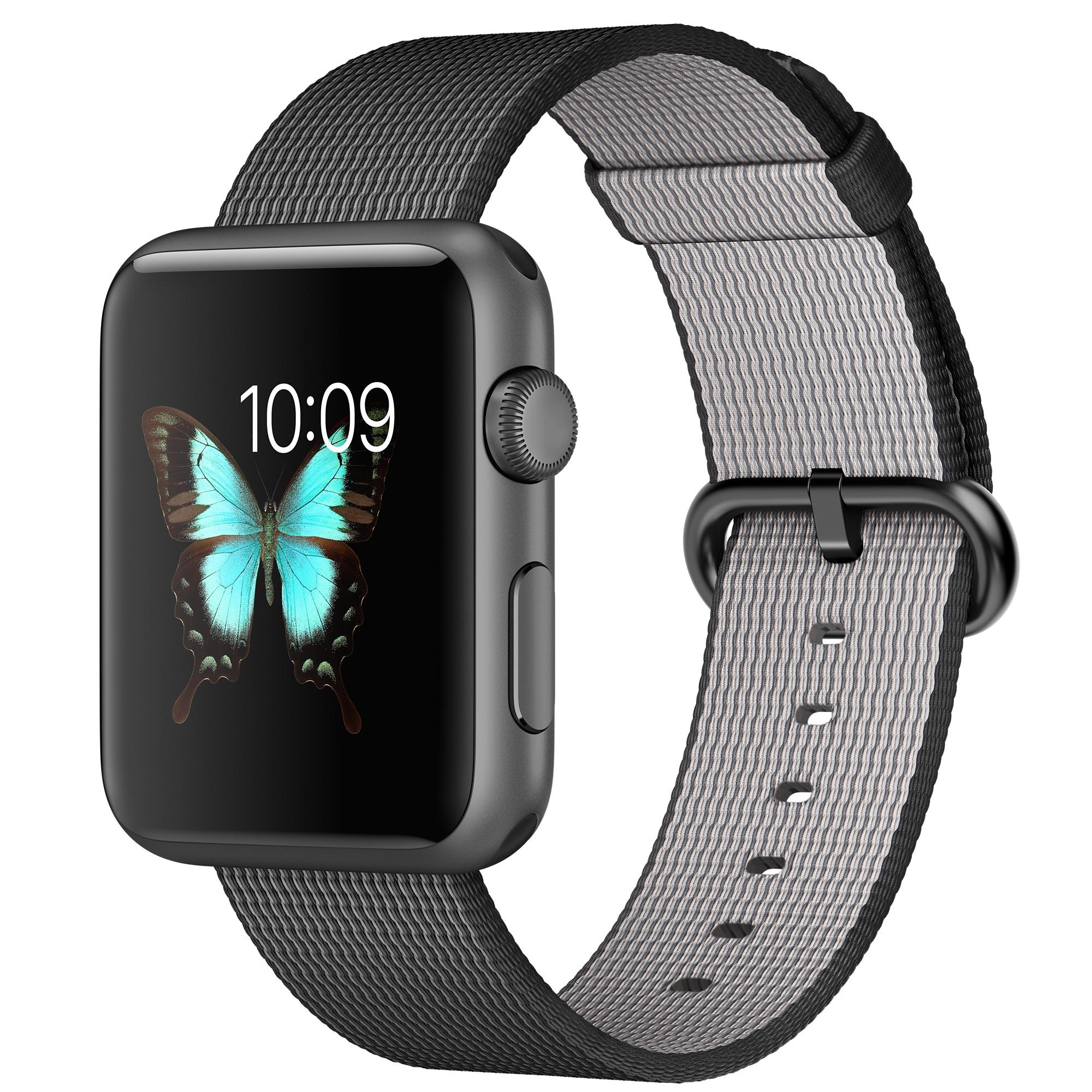 Apple Watch Sport (Schwarz, Grau)