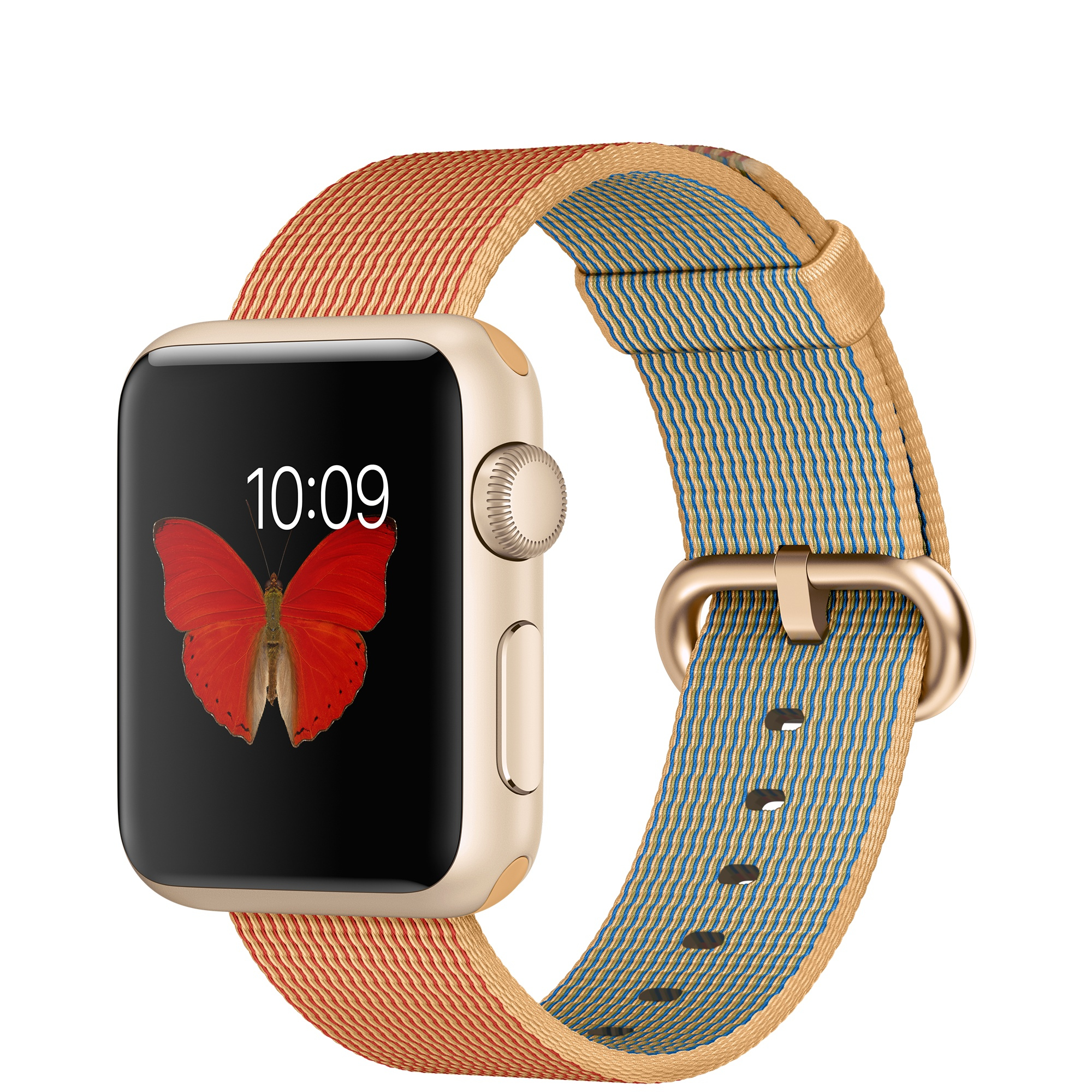 Apple Watch Sport (Gold, Rot, Gold)