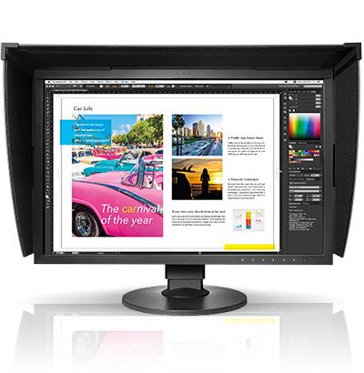 Eizo CG2420 24.1Zoll Full HD IPS LED display (Schwarz)