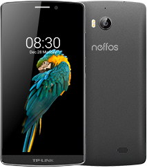 TP-LINK Neffos C5 Max 4G 16GB Grau (Grau)