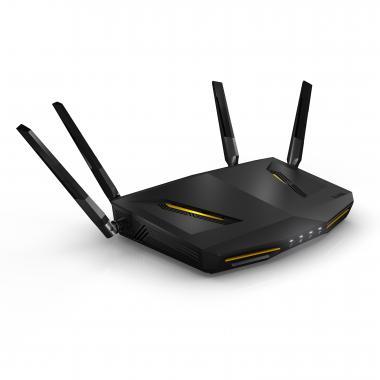 ZyXEL ARMOR Z2 NBG6817 Dual-Band (2,4 GHz/5 GHz) Gigabit Ethernet Schwarz WLAN-Router (Schwarz)