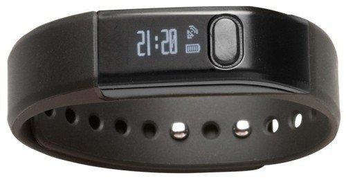 Denver BFA-10BLACK Armband activity tracker 0.49Zoll OLED Verkabelt Schwarz (Schwarz)