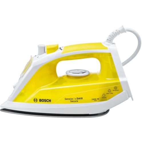 Bosch Sensixx'x TDA1024140 Trocken und Dampf 2400W Palladium Weiß, Gelb Bügeleisen (Weiß, Gelb)