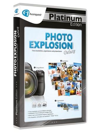 Avanquest Photo Explosion 5 Deluxe, Platinum Edition