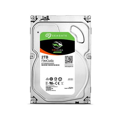 """Seagate FireCuda 2TB 3.5"""" SATA III 2000GB (Silber)"""