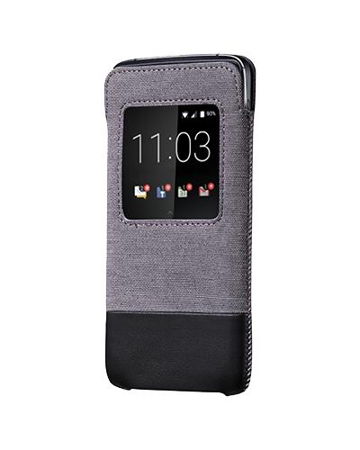 BlackBerry ACC-63006-001 5.2Zoll Mobile phone pouch Schwarz, Grau Handy-Schutzhülle (Schwarz, Grau)