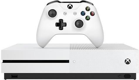 Microsoft Xbox One S FIFA 17 (Weiß)