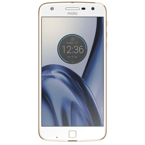 Lenovo Moto Z Play 32GB 4G Weiß (Gold, Weiß)
