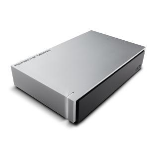 LaCie Porsche Design 4000GB Silber Externe Festplatte (Silber)