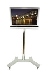 B-Tech Medium LCD Display Trolley BT7504 (Silber)
