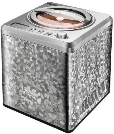 Unold 48870 Kompressor Eismaschine 2l 180W Edelstahl Eismaschine (Edelstahl)
