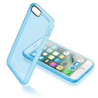 Vivanco 37777 4.7Zoll Abdeckung Blau, Durchscheinend Handy-Schutzhülle (Blau, Durchscheinend)
