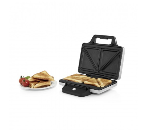 WMF LONO 870W Edelstahl Sandwich-Toaster (Edelstahl)