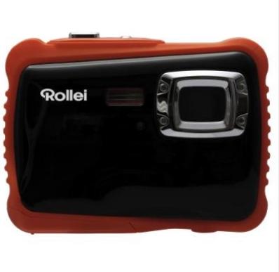 Rollei Sportsline 65 Kompaktkamera 5MP CMOS 2592 x 1944Pixel Schwarz (Schwarz, Orange)