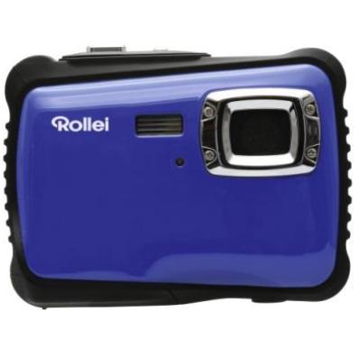 Rollei Sportsline 65 Kompaktkamera 5MP CMOS 2592 x 1944Pixel Schwarz, Blau (Schwarz, Blau)