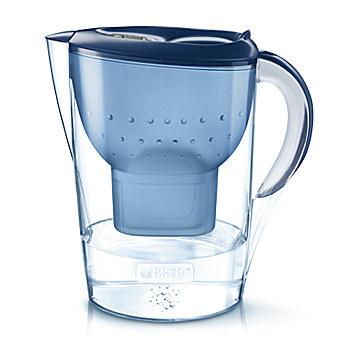 Brita Marella XL Pitcher-Wasserfilter 3.5l Blau (Blau, Transparent)