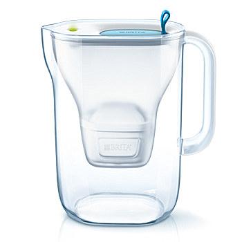 Brita Style Pitcher-Wasserfilter 2.4l Blau (Blau, Transparent)