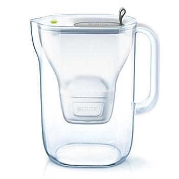 Brita Style Pitcher-Wasserfilter 2.4l Grau (Grau, Transparent)