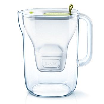 Brita Style Pitcher-Wasserfilter 2.4l Limette (Limette, Transparent)