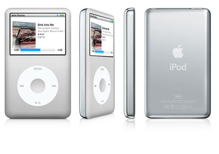 Apple iPod classic 160GB (Silber)