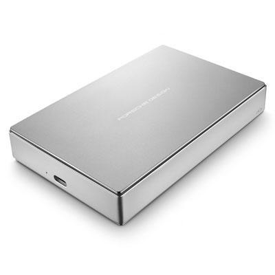 LaCie Porsche Design 5000GB Silber Externe Festplatte (Silber)