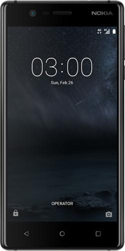 Nokia 3 Dual SIM 4G 16GB Schwarz (Schwarz)