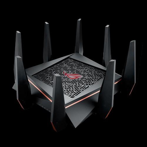 ASUS ROG Rapture GT-AC5300 Dual-Band (2,4 GHz/5 GHz) Gigabit Ethernet Schwarz WLAN-Router (Schwarz)