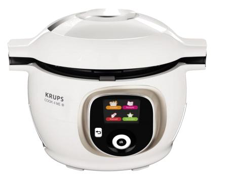 Krups CZ 7101 6l 1200W Grau, Weiß Multi-Kocher (Grau, Weiß)