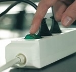 Brennenstuhl Eco-Line + Switch & 1,5 mm² Ø Cable (Grau)