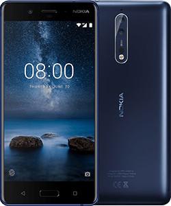 Nokia 8 4G 64GB Blau (Blau)